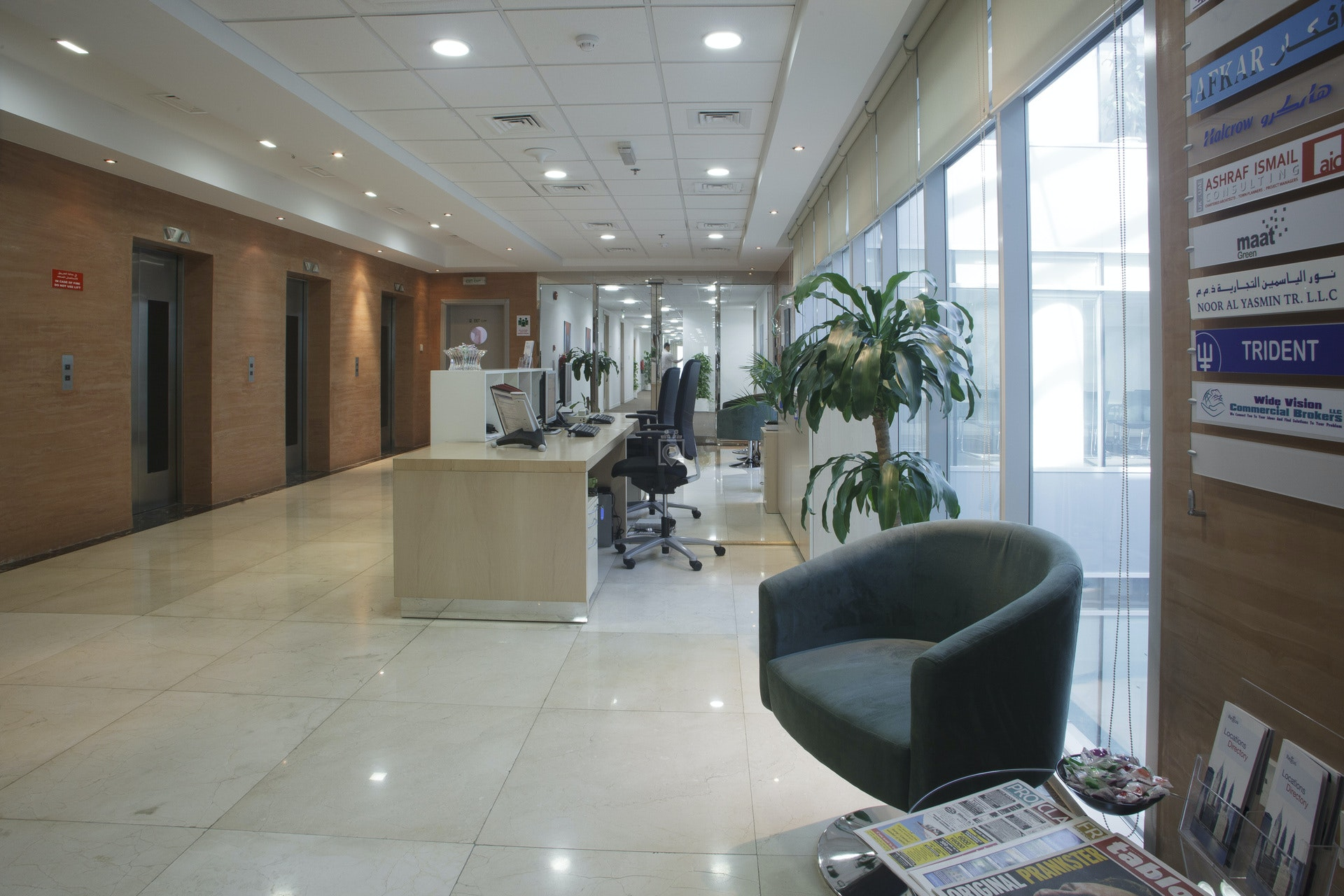 Sharjah Mega Mall, Regus- Satisfactory Service, Professional Environment, & Maintained Offices