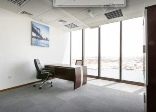 Regus Tamouh Tower Abu Dhabi Serviced Offices.